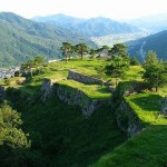 CMでもお馴染み竹田城、日本のマチュピチュ。天空の城と呼ばれる。